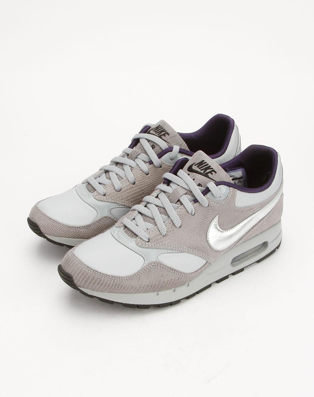 耐克nike-女鞋专场-女款灰色air系列绑带运动文化鞋