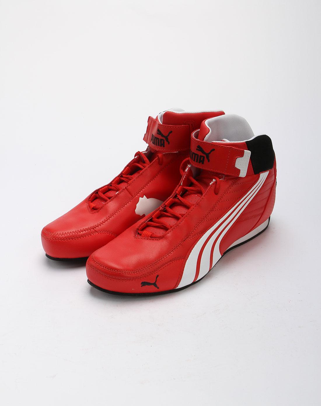 魔术贴红色女鞋