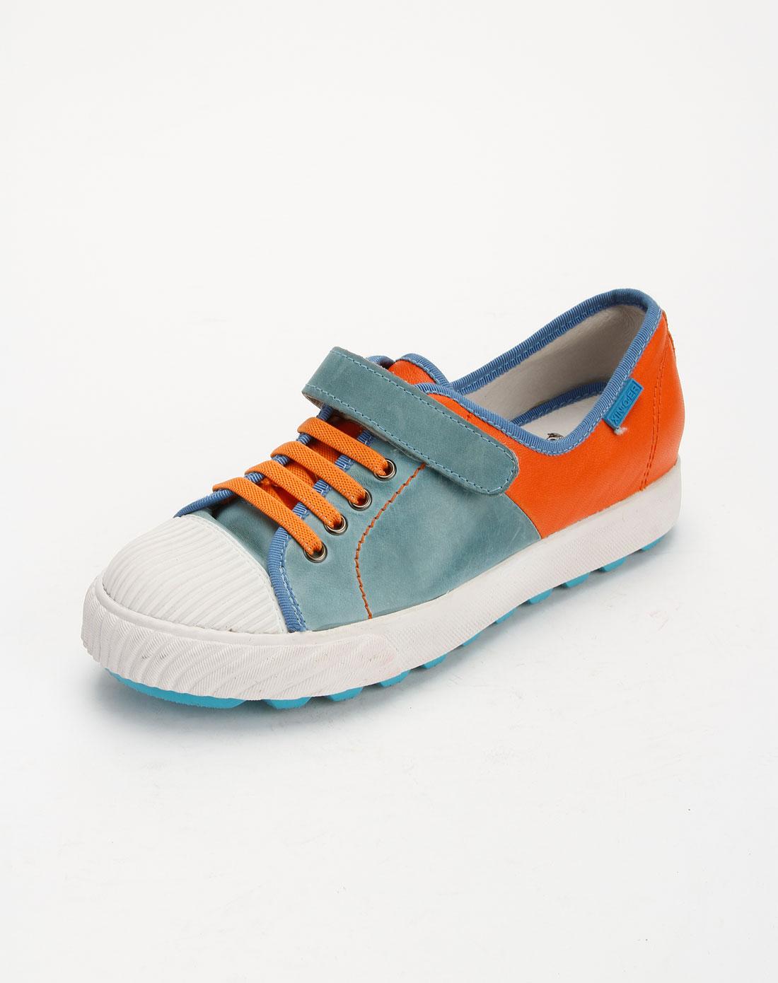 系带时尚平底休闲鞋x11163