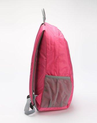 卡帕kappa女款粉红色个性时尚双肩背包k01y8bs08-516