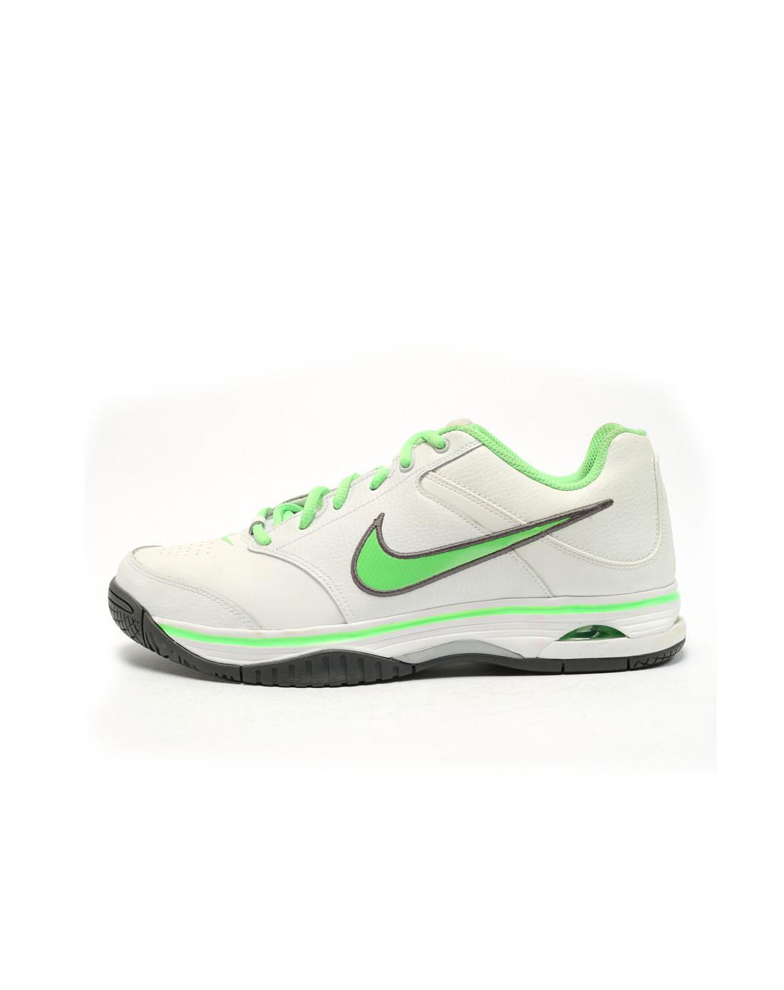 耐克nike男子白色网球鞋395522-105