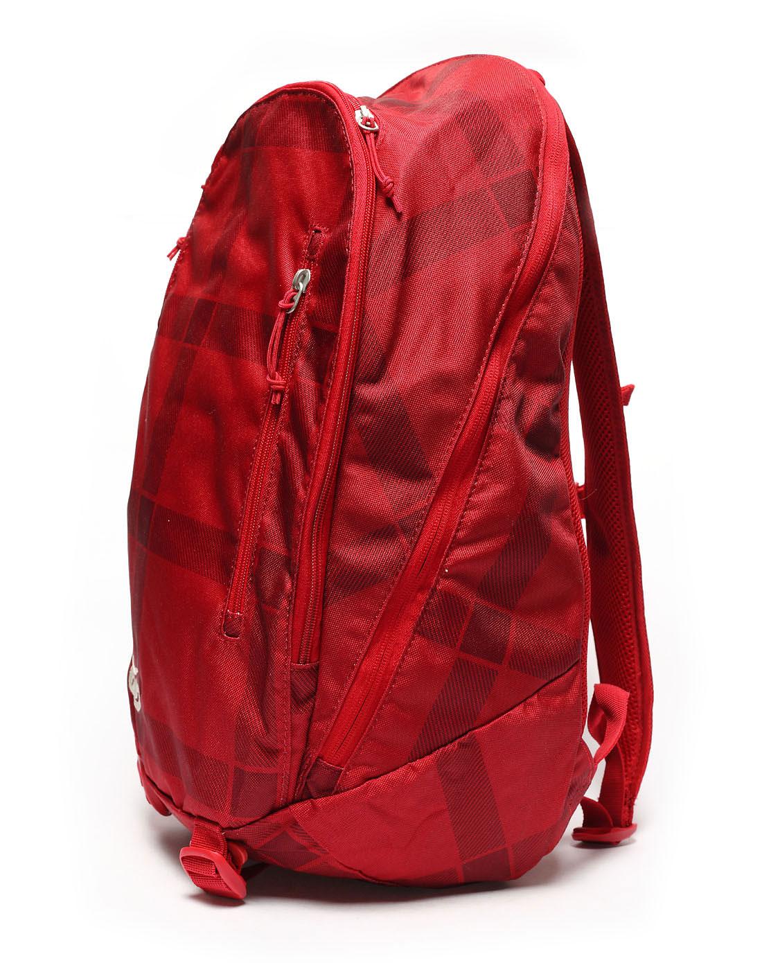 耐克nike男子红色背包ba3274-622