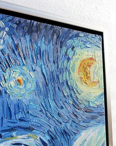 梵高星空-纯手绘油画(单幅)