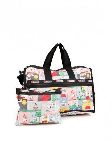 彩色史努比图案可爱手提包