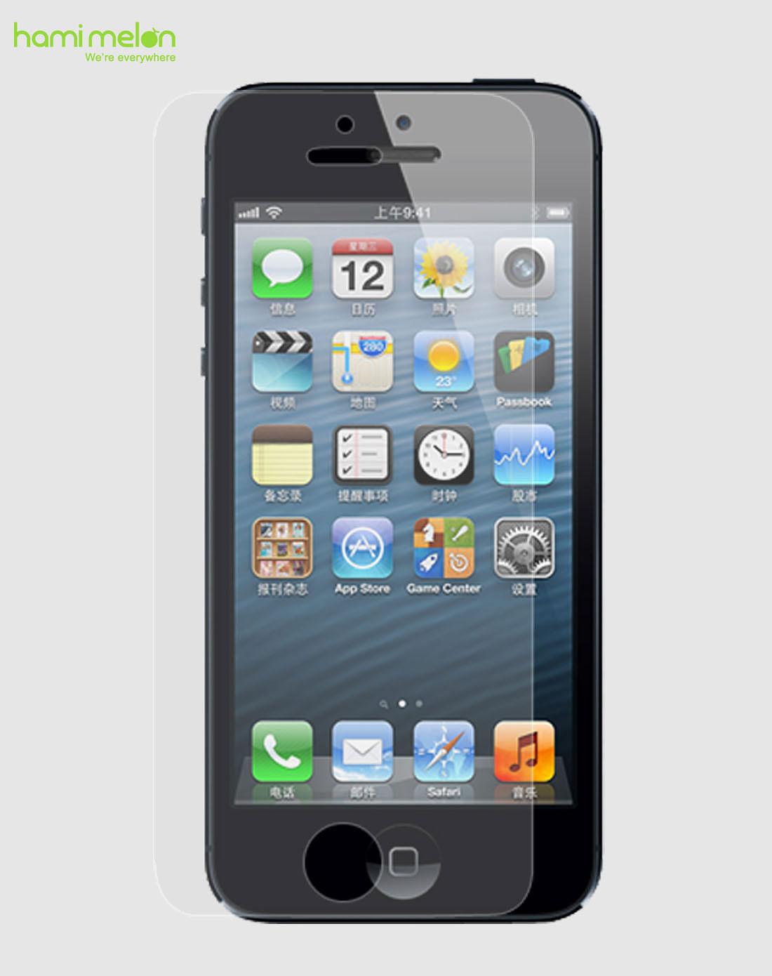 哈密瓜抹布赠品贴膜-iphone5专场屏幕保护苹果(配树脂手机)壁灯现代配件图片