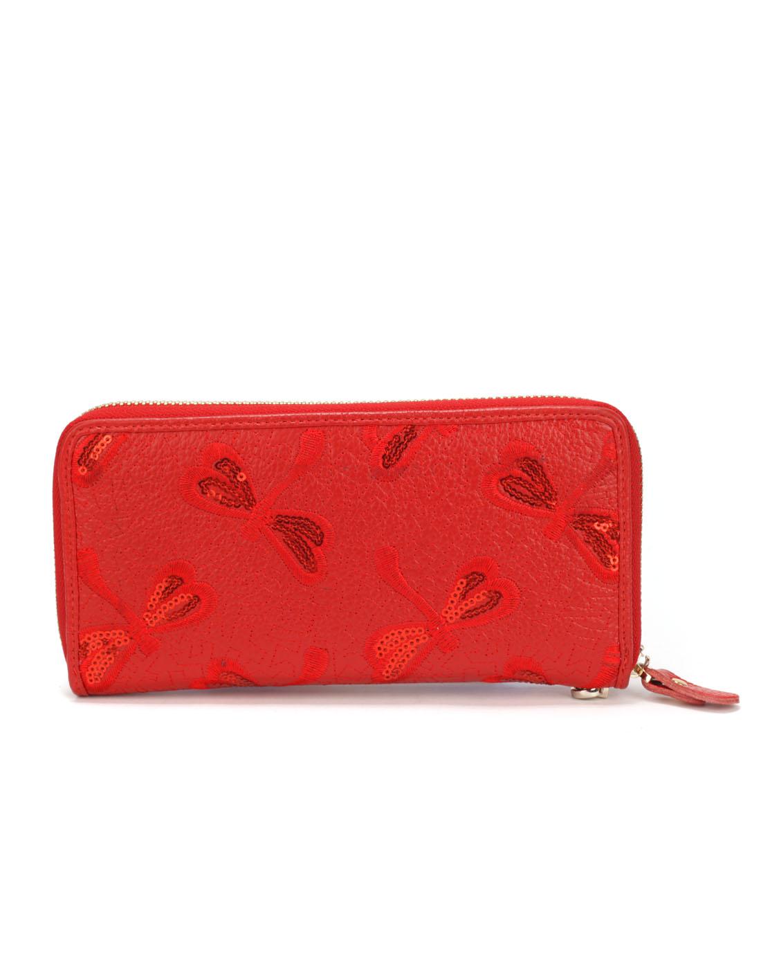 红蜻蜓长款钱包手