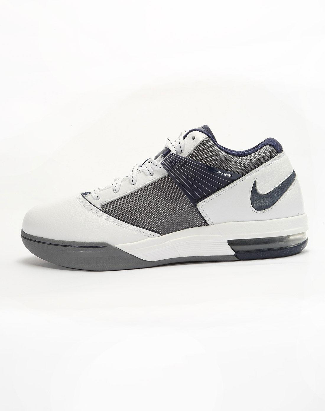 耐克nike-男子白色篮球鞋415142-106