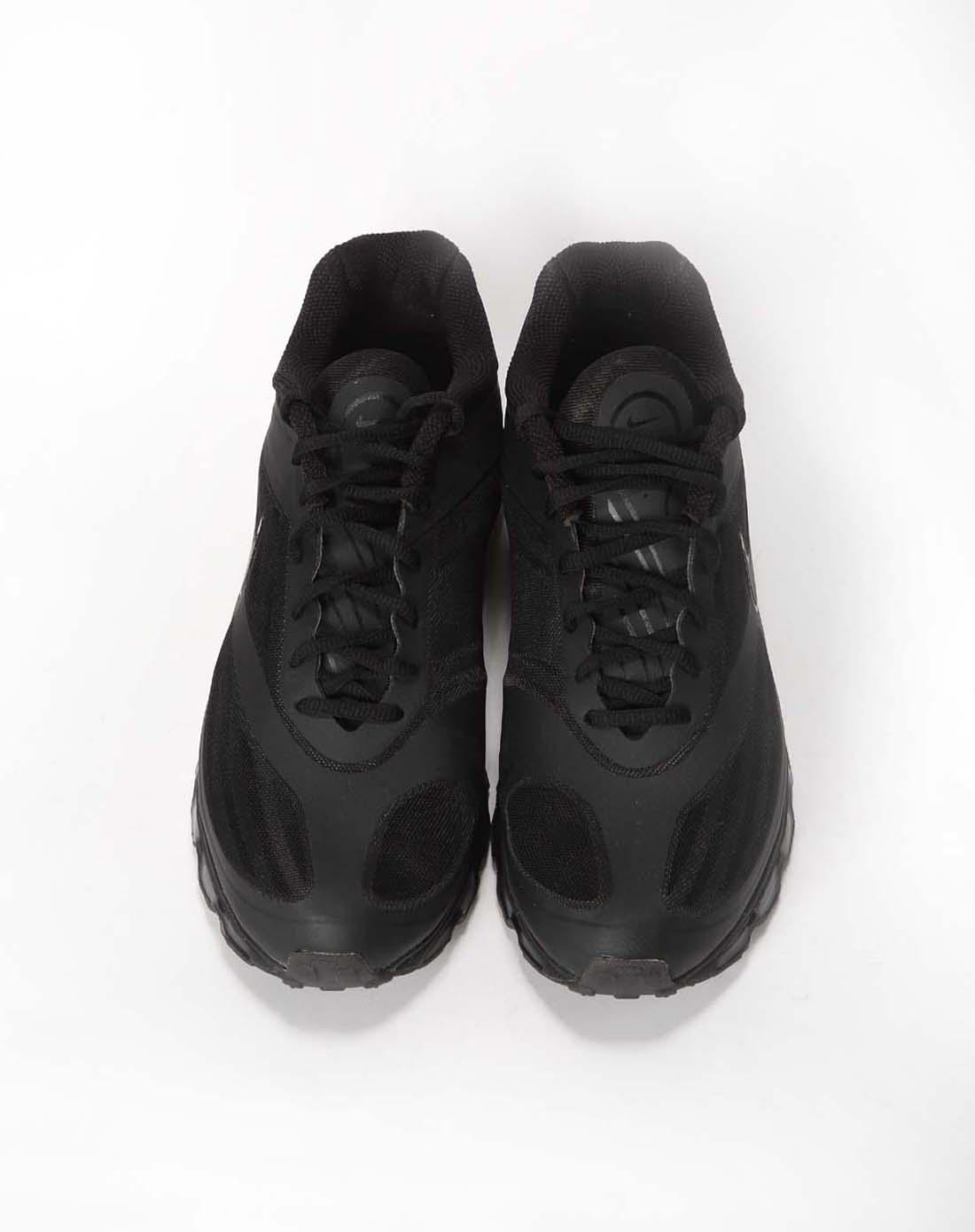 耐克nike男子黑色跑步鞋454346-004