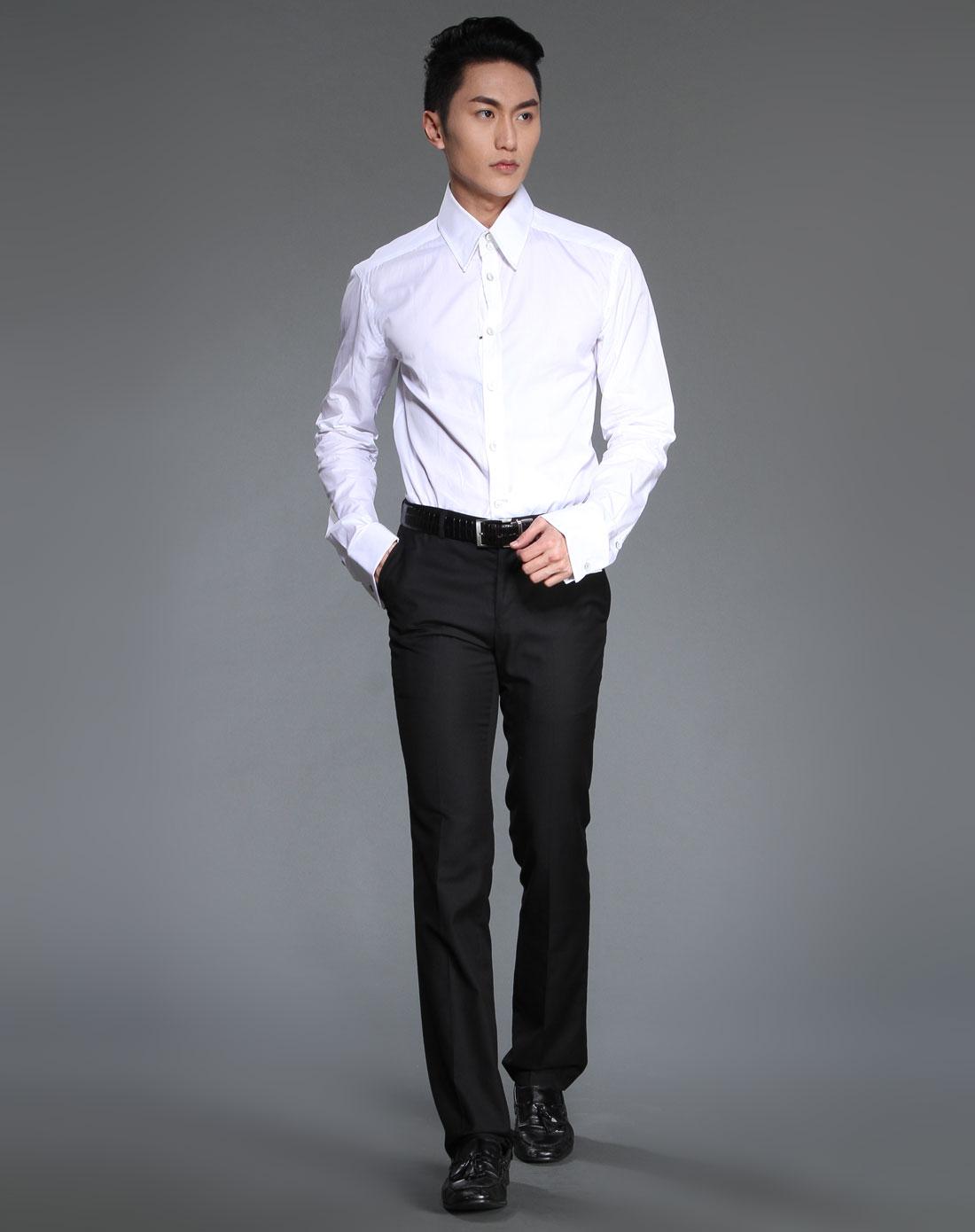 男士正装衬衣图片_正装男衬衫的尺寸表-男士正装衬衫尺码如何选?