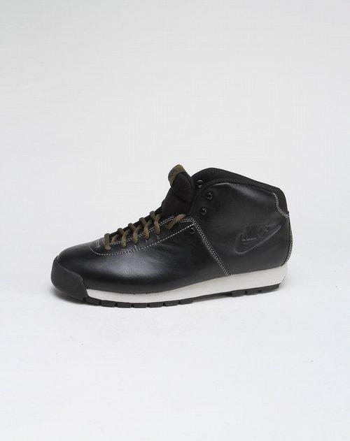 耐克nike 男款净色欧式风格黑色高帮运动文化鞋