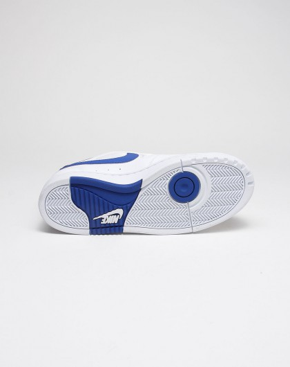 耐克nike男士专场-白底蓝色nike side 2 side经典款休闲板鞋