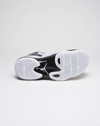 耐克nike-黑白色闪粉jordan篮球鞋549585-100