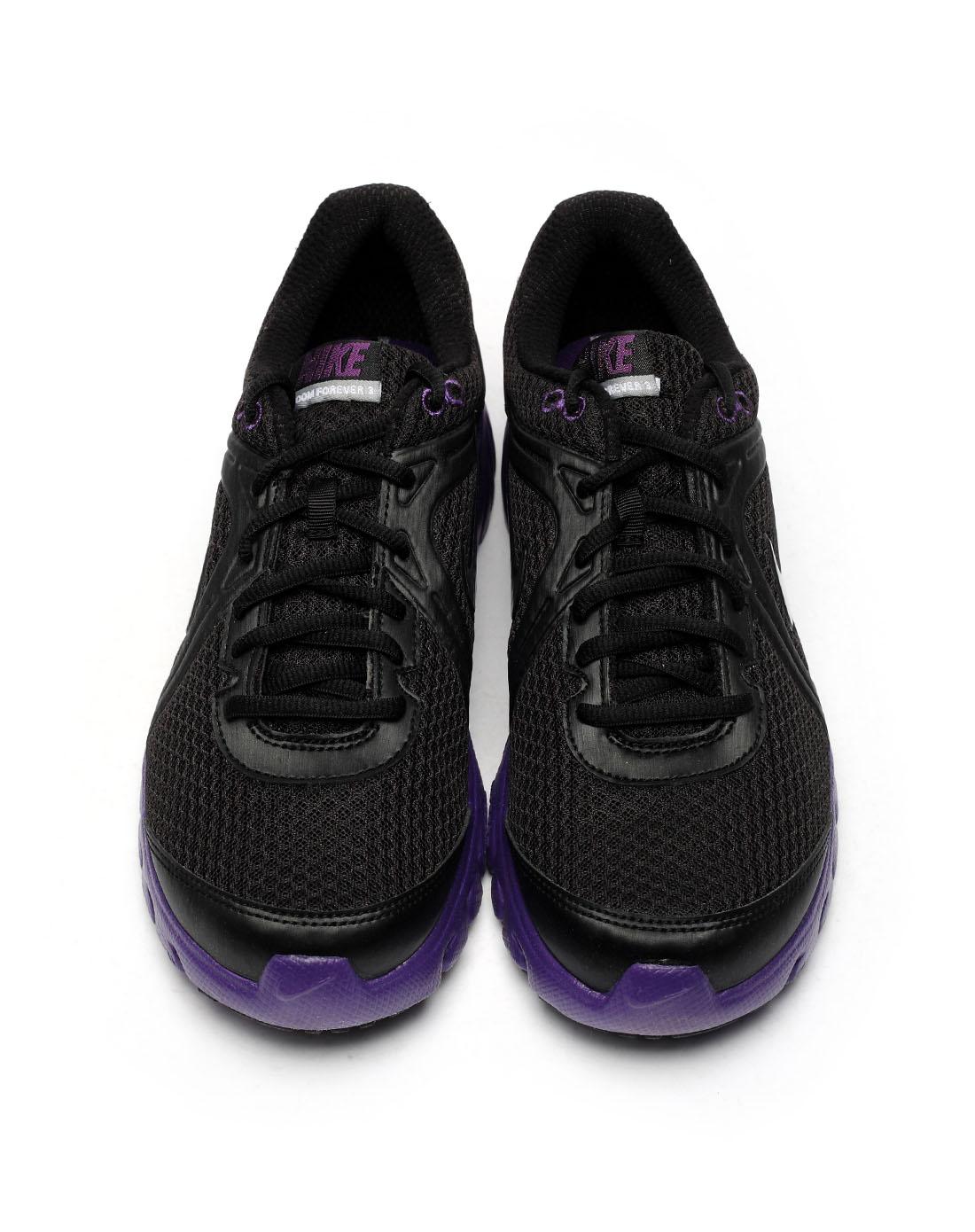 耐克nike-男子黑色跑步鞋443846-005
