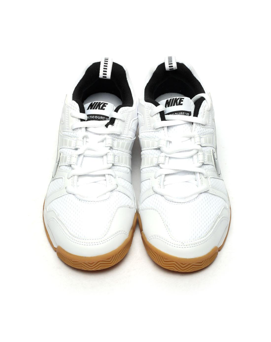 耐克nike-男子白色网球鞋454357-106