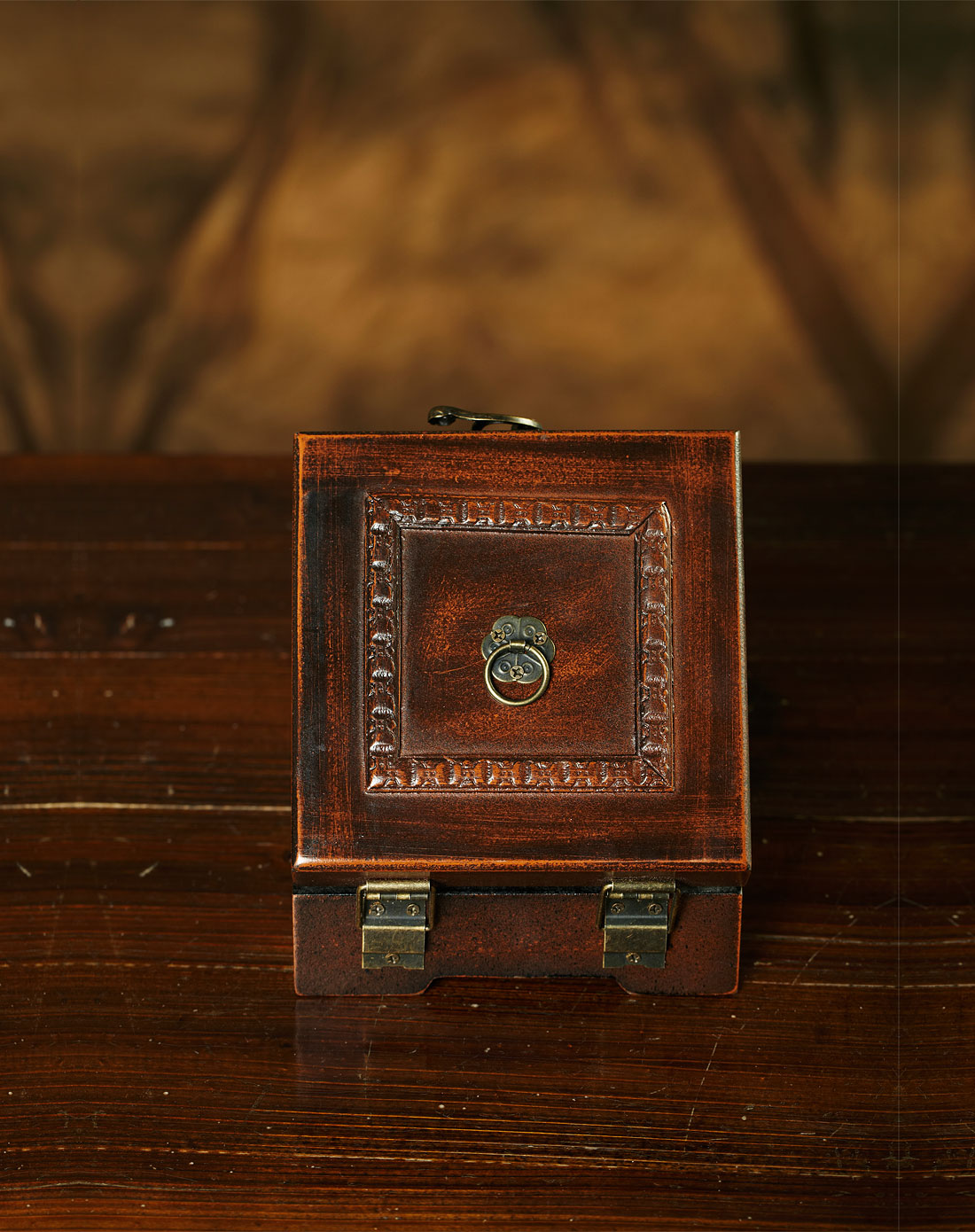 欧式风格复古带盒子