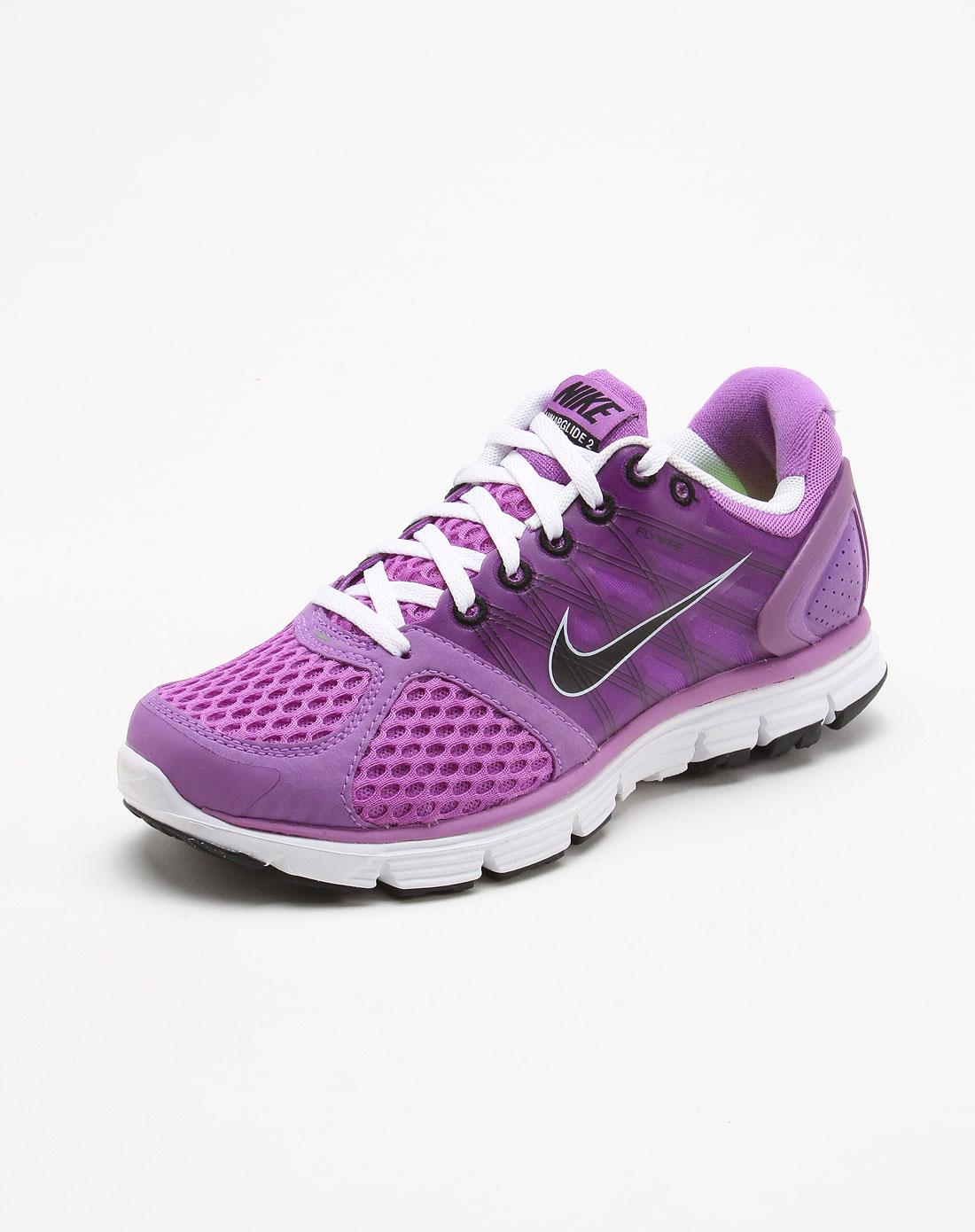 耐克nike-女鞋专场-紫色绑带运动鞋