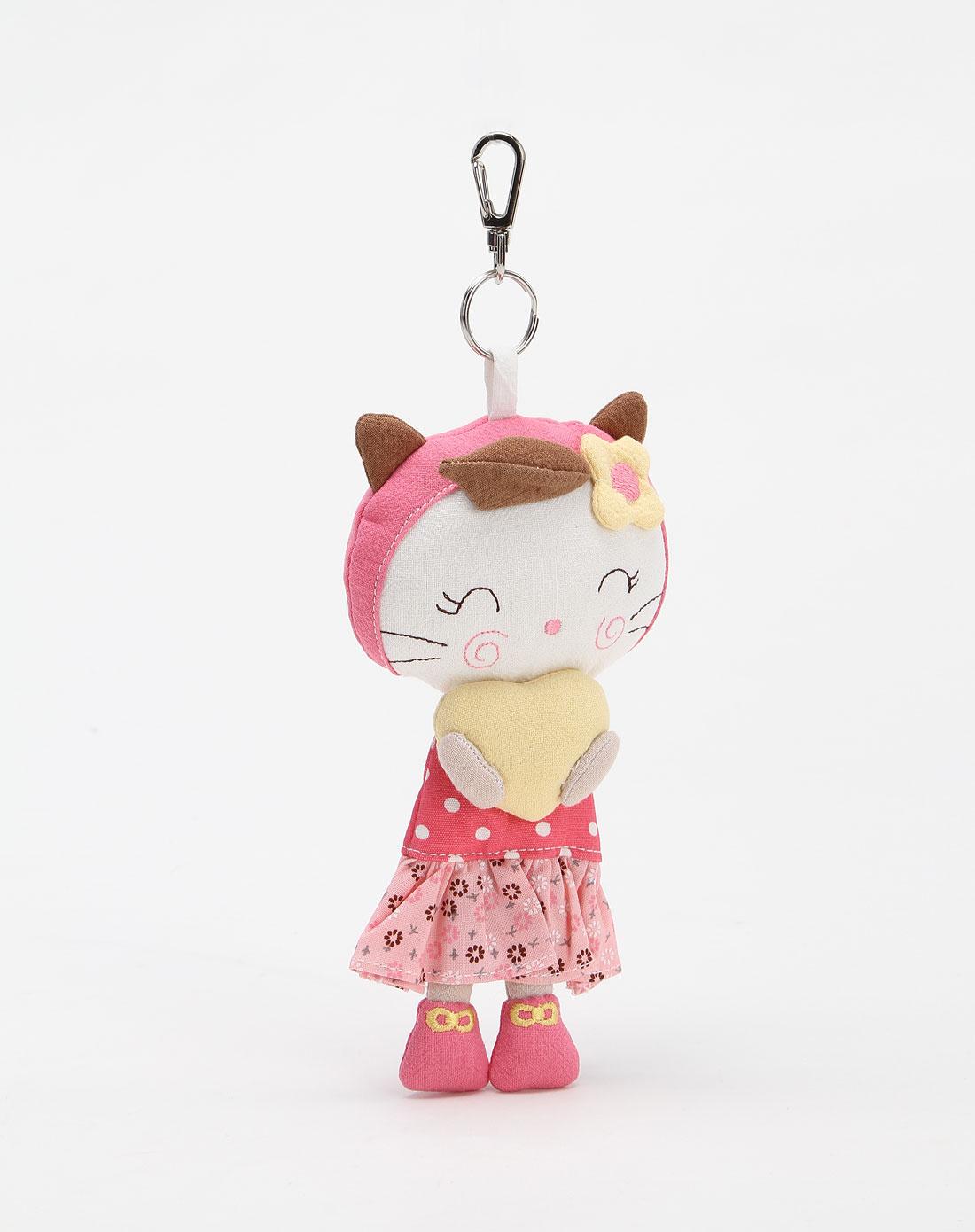 粉红色可爱小挂件