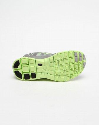 耐克nike-女款烫印logo铁灰荧光绿色跑步鞋510643-07