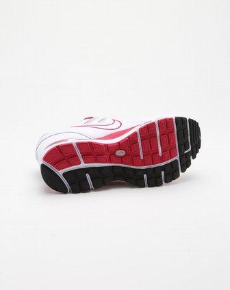 耐克nike-童装-儿童白底玫红色网面舒适运动鞋