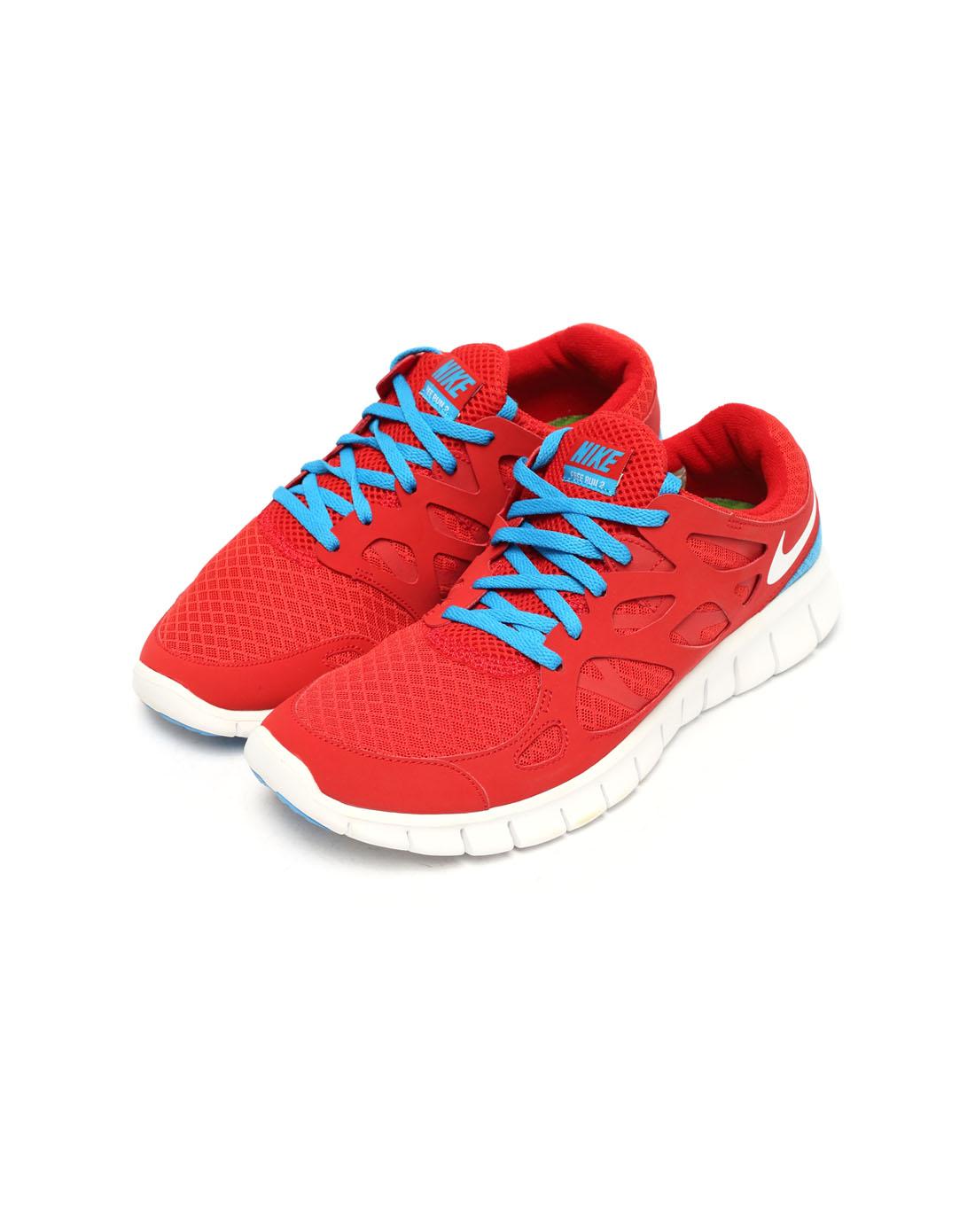 耐克nike-男子红色跑步鞋443815-614