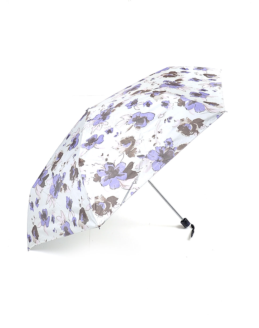 水墨花朵太阳伞