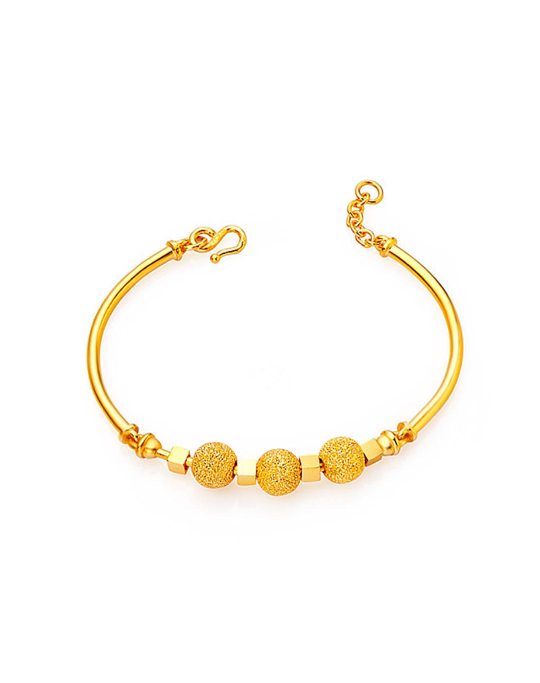 黄金手镯和黄金手链_黄金手链_女式貔貅黄金手链图片