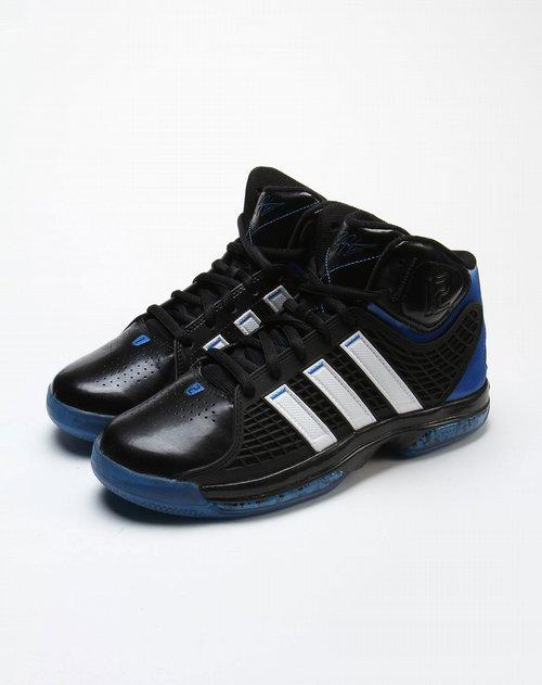 阿迪达斯 男款黑 亮白色霍华德系列耐磨篮球鞋怎么样,好不好