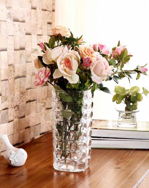 欧式水晶玻璃花瓶-海洋花光