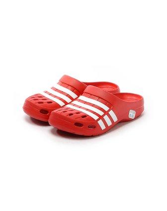 阿迪达斯adidas男子红色凉拖鞋g62580