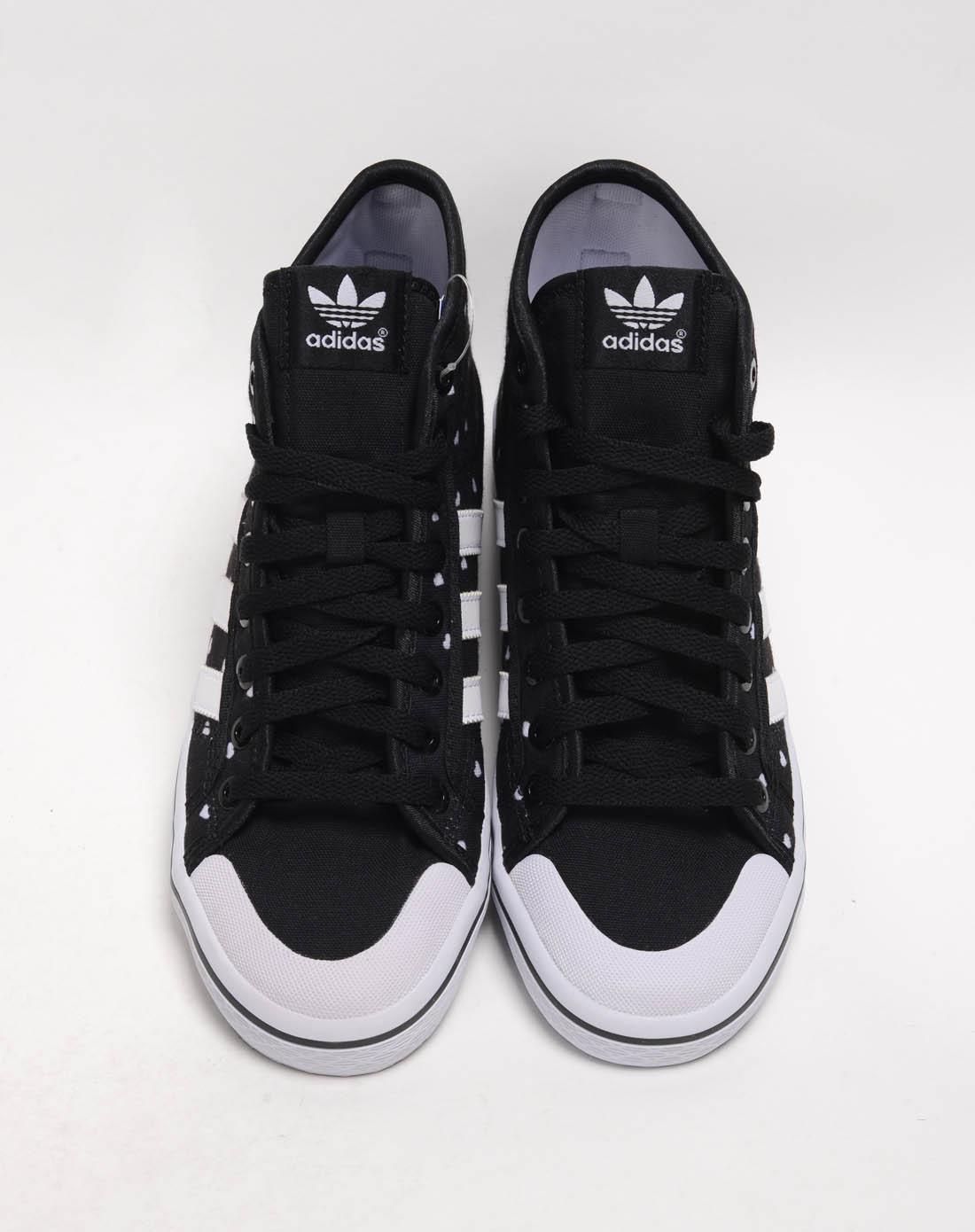 阿迪达斯adidas女鞋专场-女子黑色复古鞋