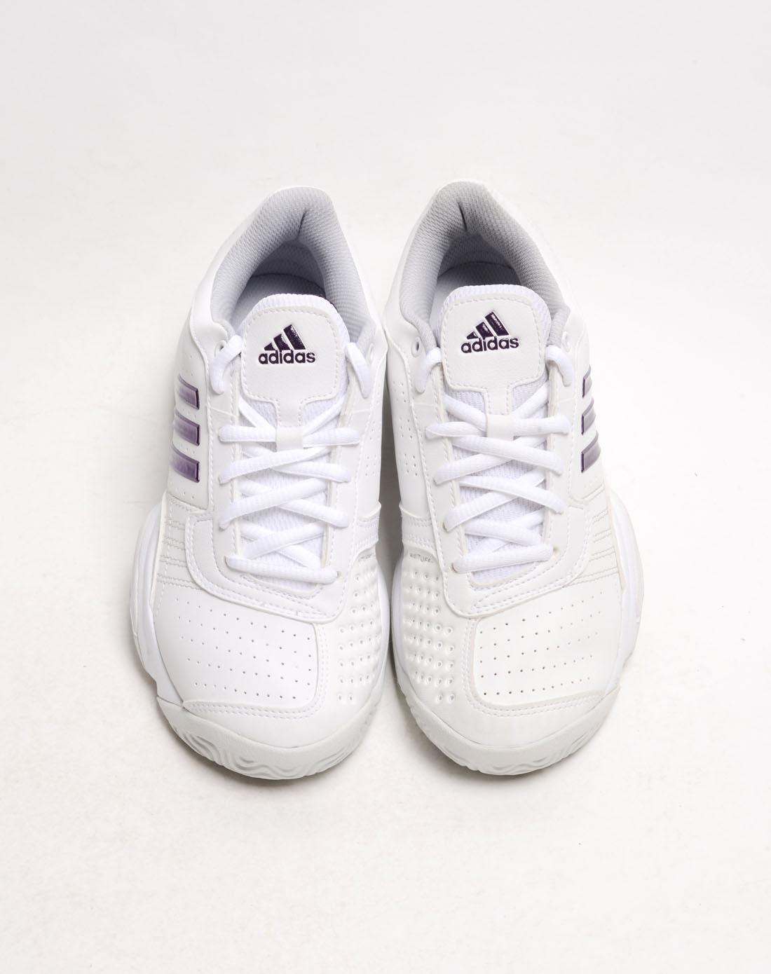 阿迪达斯adidas女鞋专场-女子白色网球鞋
