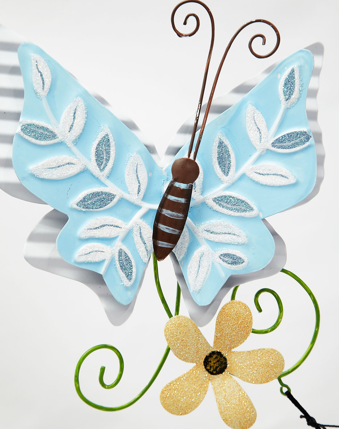 手绘玻璃装饰风铃两件套