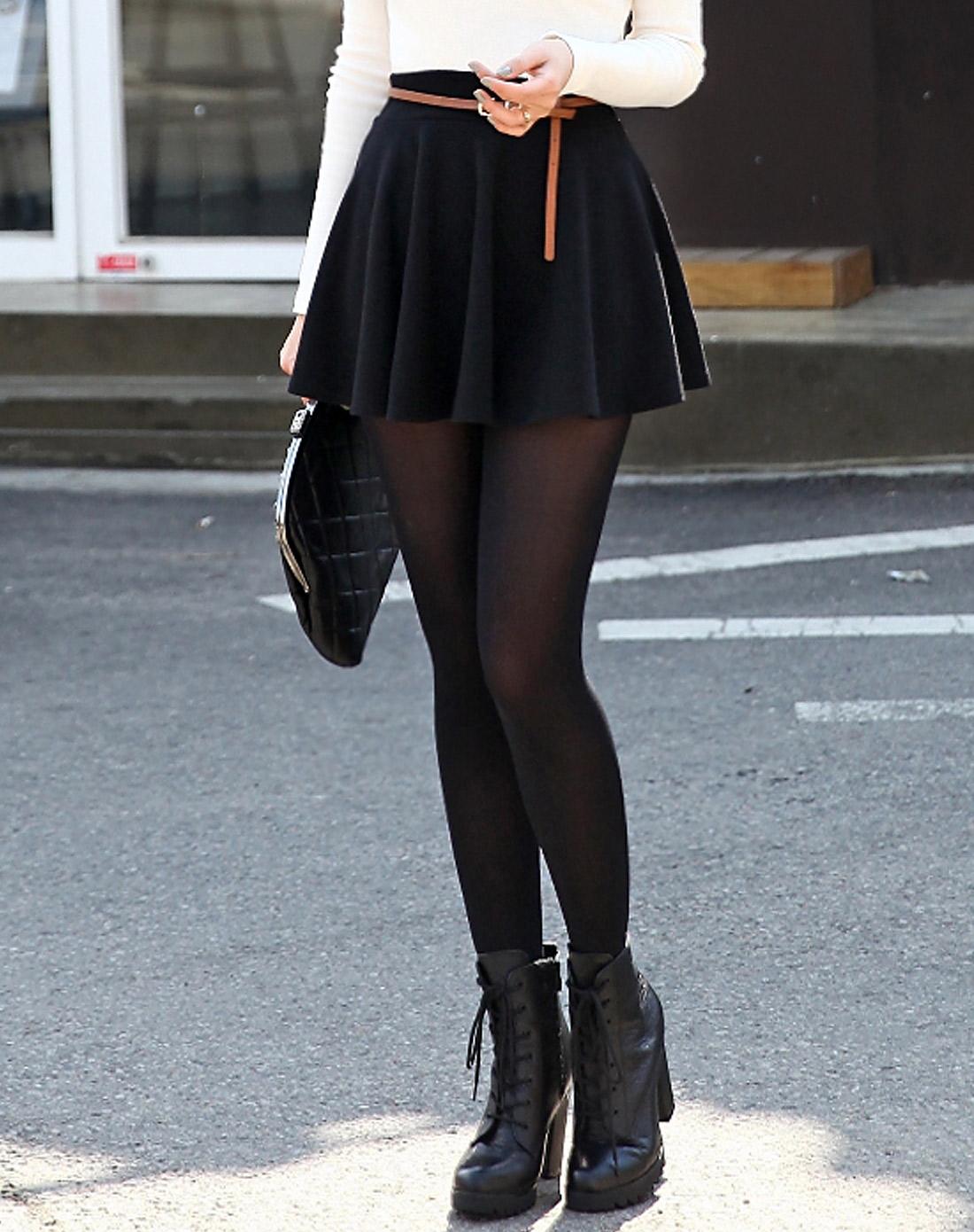 闺蜜短裙半身裙图片