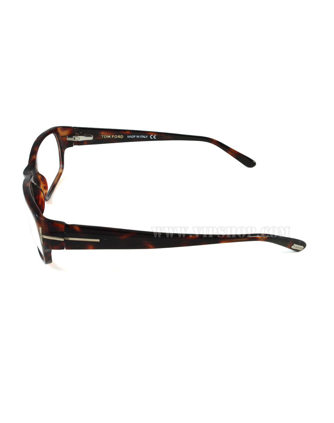 tom ford 中性款时尚雪茄色纹眼镜架