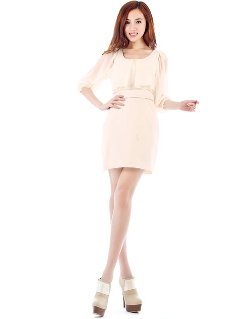 拍普儿 白色优雅花边长袖衬衫