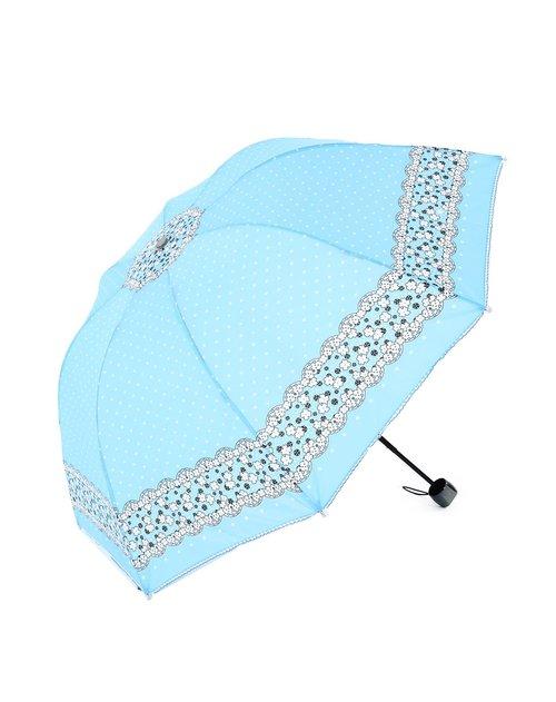 威廉&凯特 超防晒防紫外线三折超可爱朵朵小花晴雨伞