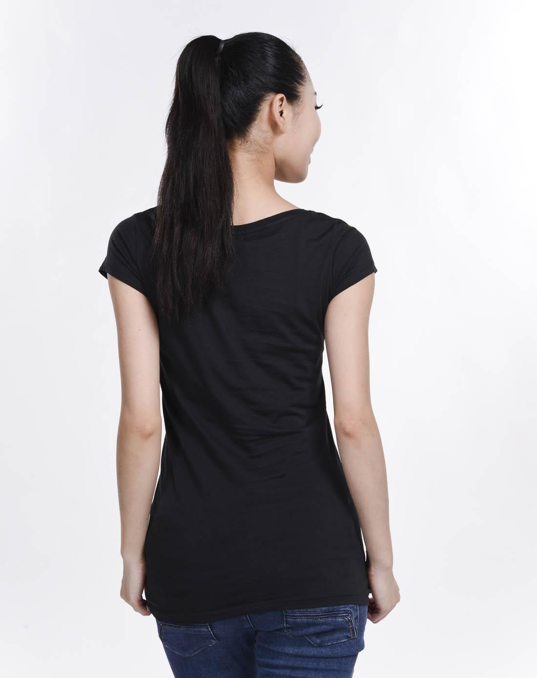 阿迪达斯adidas女子黑色短袖t恤o59288