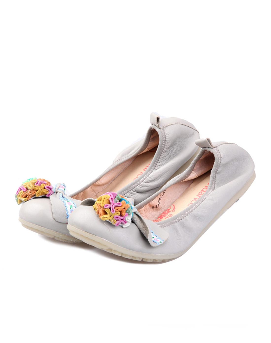 banner旗下品牌太阳舞 灰色青春瑜伽款低鞋
