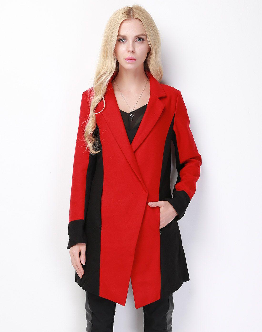 冬装新款复古小香风千鸟格毛呢大衣宽松系带中长款呢子外套