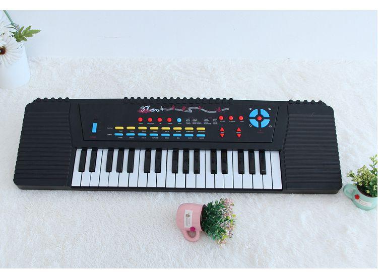 英文版深港37键玩具电子琴