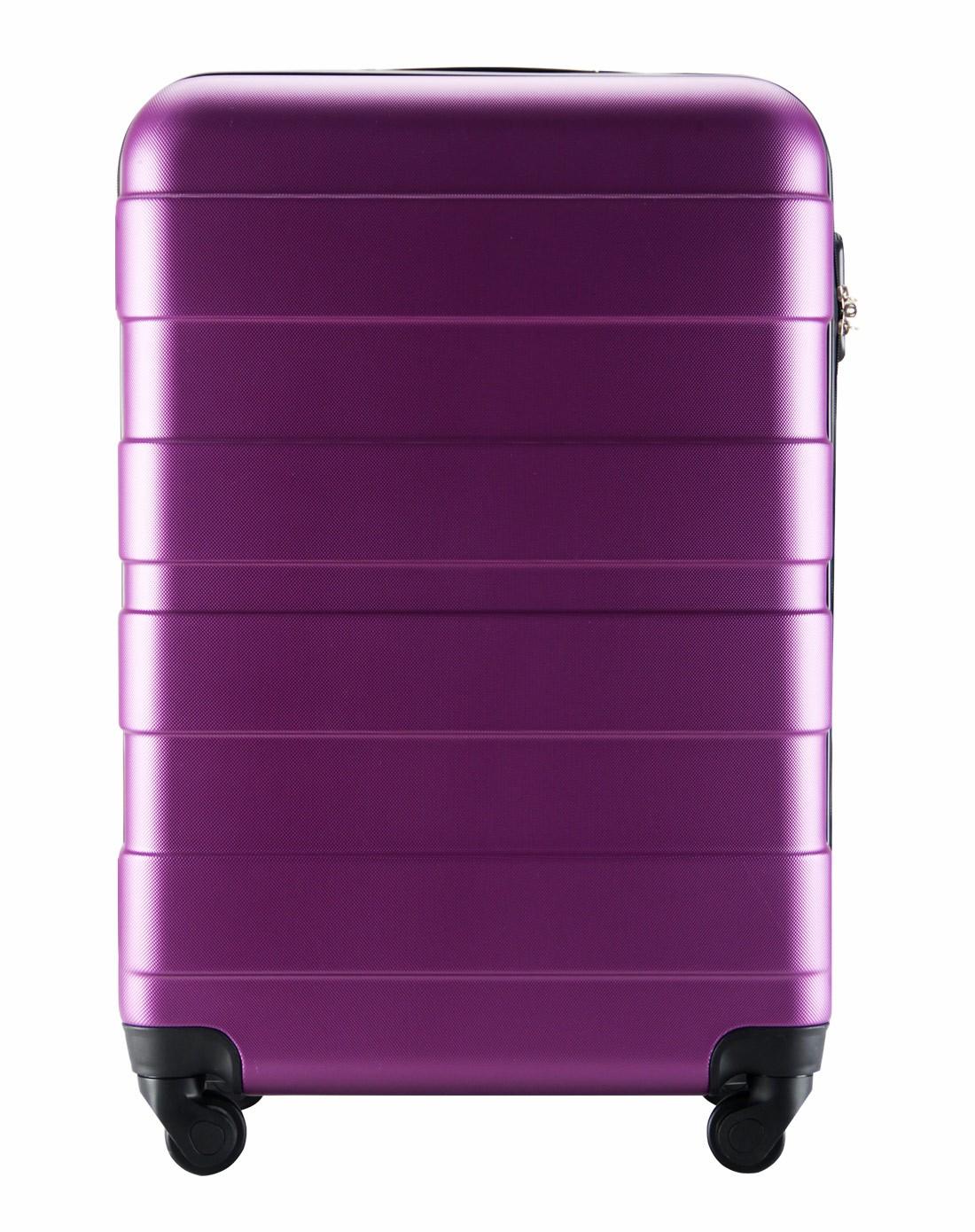 y6拉杆箱专场abs款防刮行李箱20寸紫色y4105-20紫色