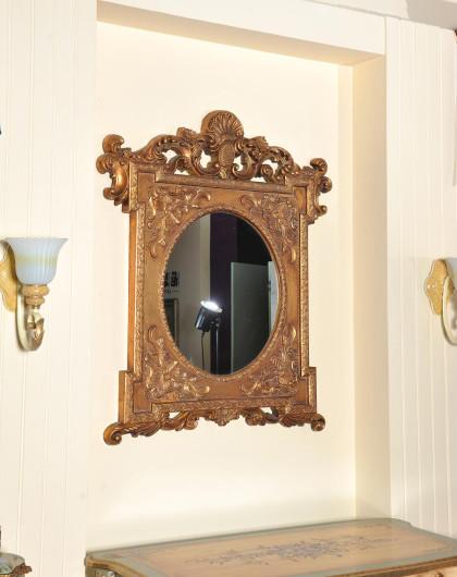 欧式宫廷雕花树脂玻璃镜子