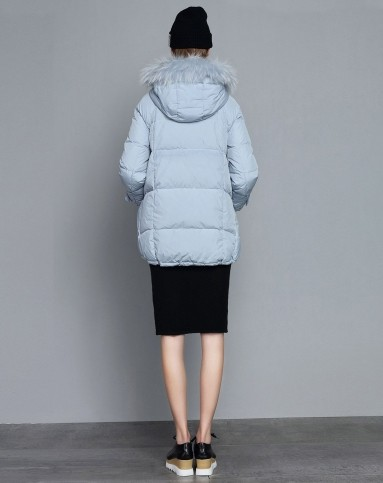 七大品牌恭贺-歌力思唯颂2015冬季新款直筒加