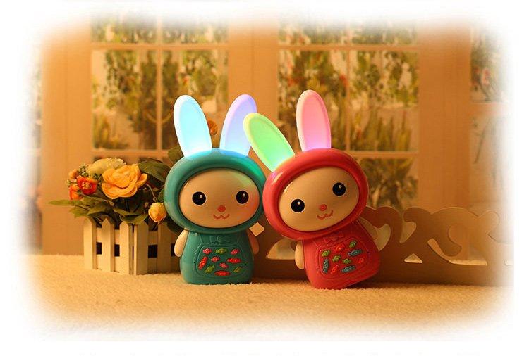 儿童智能玩具糖果兔故事机下载录音
