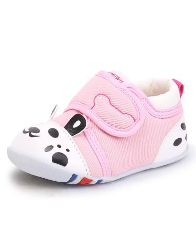 中性粉色卡通动漫婴儿鞋