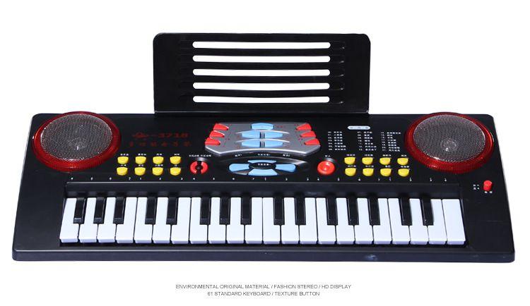 37键电子琴键盘认识