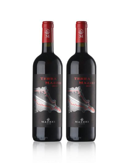 干红葡萄酒双支装
