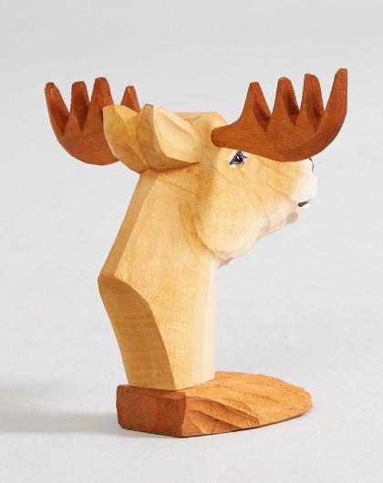 创意实木木雕摆件眼镜架