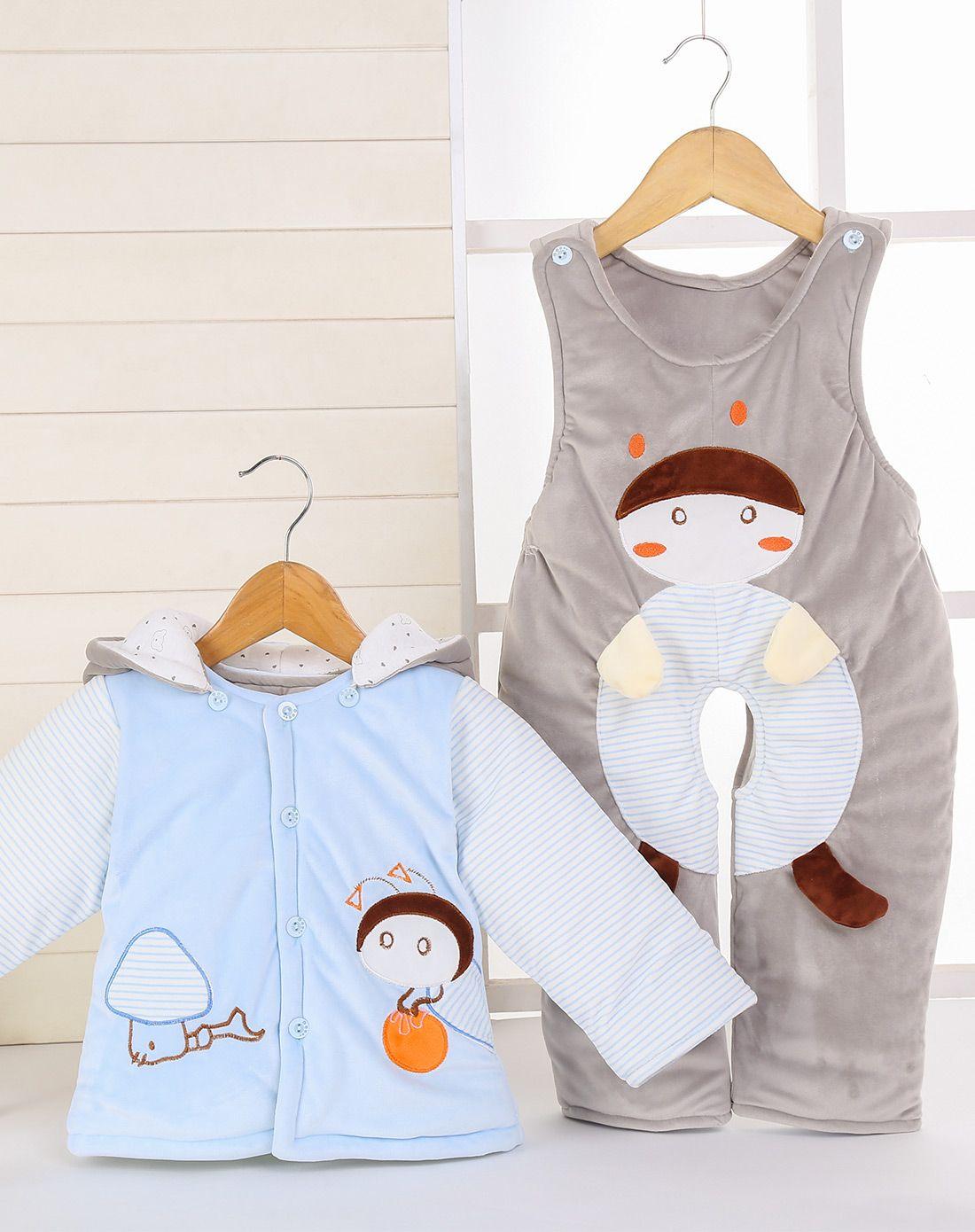 可爱宝宝婴装两件套cs