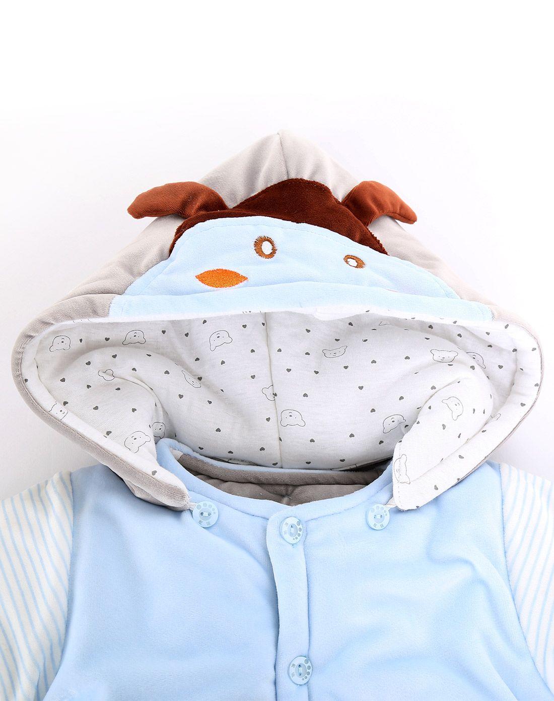 睡王&贝彤婴童睡袋用品睡王可爱宝宝婴装两件套cs361